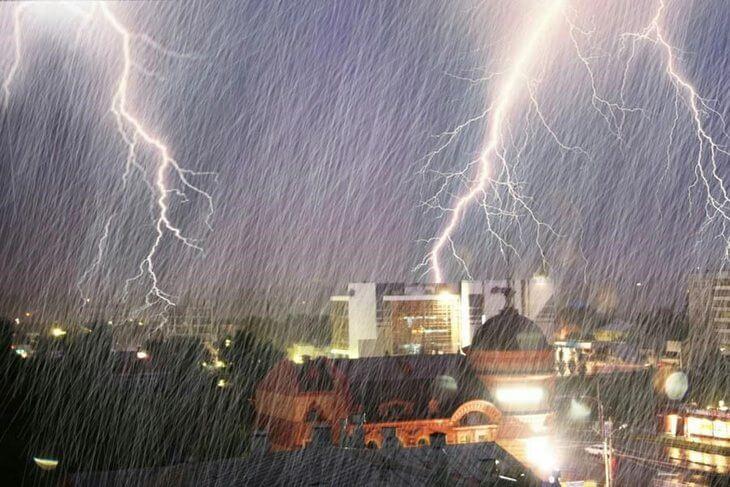 Грозовой дождь