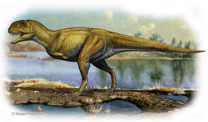 Как выглядит экриксинатозавр на картине