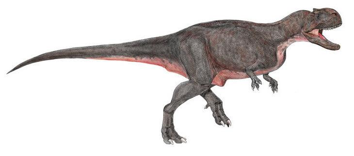 картина экриксинатозавра