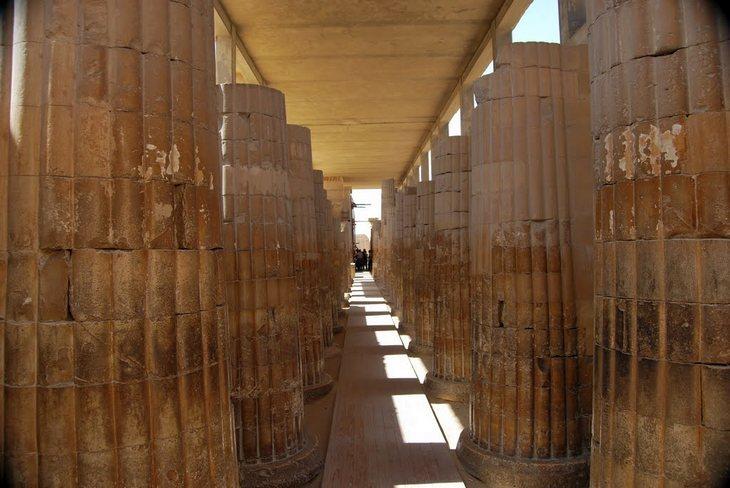 Облицовка пирамиды Джосера