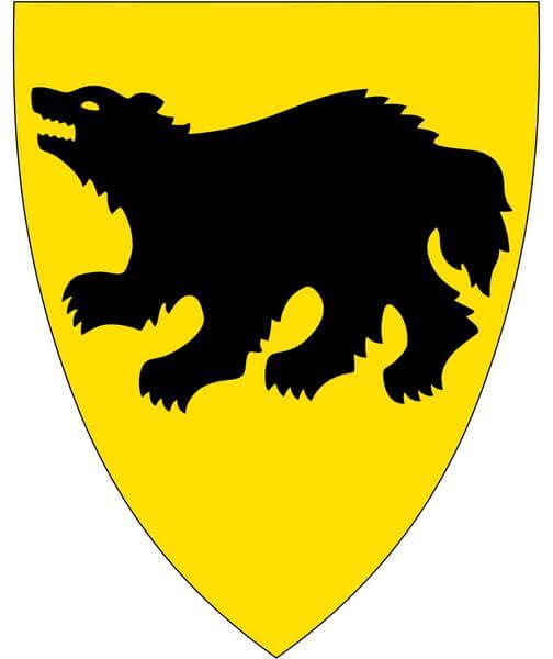 Росомаха на гербе